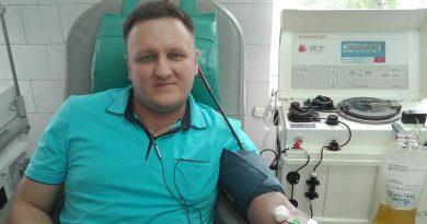 Наибольшее количество сдачи крови на тромбоконцентрат