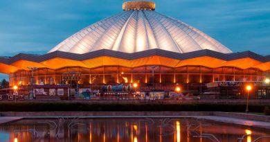 Самое большое количество цирковых зданий в мире