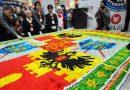 Самая большая мозаика из суши и роллов