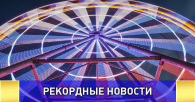 Колесо обозрения Ярославля попало в книгу рекордов