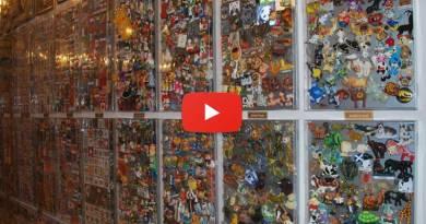 Самая большая коллекция сувенирных магнитиков в России