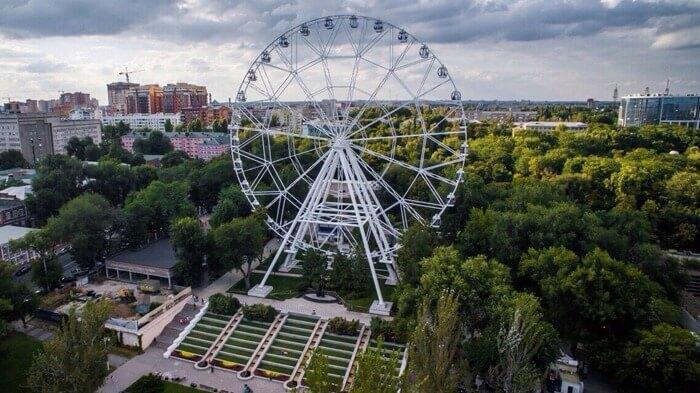 Самые высокие колеса обозрения в России
